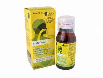 Colfin sirup adalah obat untuk mengatasi gejala flu seperti demam, sakit kepala, hidung tersumbat
