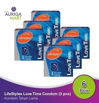 LifeStyles Love Time - Long Lasting Kondom  harga terbaik 107400