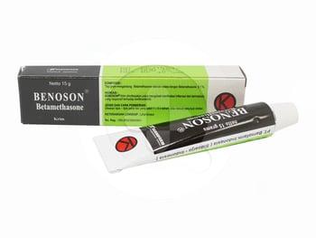 Benoson krim adalah obat yang digunakan untuk mengatasi penyakit kulit