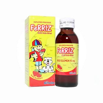Ferriz Sirup Rasa Strawberry 100 ml harga terbaik 33948