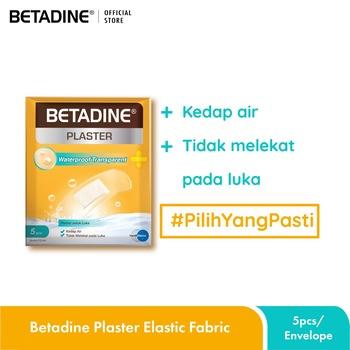 Betadine Plaster Waterproof Transparent harga terbaik