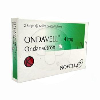 Ondavell tablet adalah obat untuk mengatasi mual muntah akibat operasi, kempoterapi, dan radioterapi