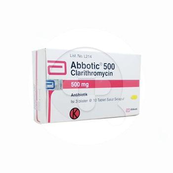 Abbotic tablet adalah obat untuk mengatasi infeksi ringan hingga yang disebabkan oleh mikroorganisme