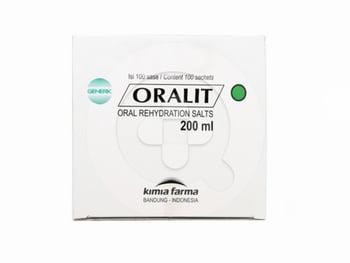 Oralit Kimia Farma Sachet 200 mg  harga terbaik 1000