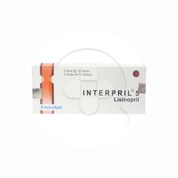Interpril Tablet 5 mg (1 Strip @ 10 Tablet)