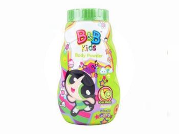 bedak baby - B&B Kids Body Powder Buttercup 60 g