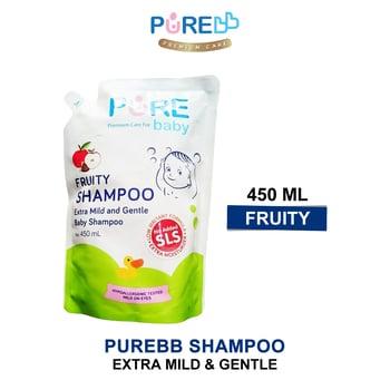 Pure Baby Shampoo Fruity 450 ml - Refill harga terbaik 47971