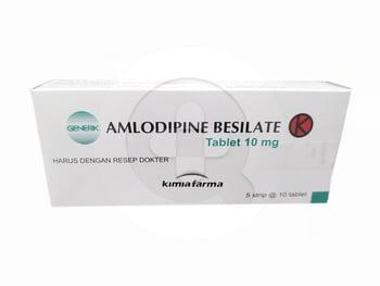 Amlodipine Kimia Farma Tablet 10 mg  harga terbaik 25020