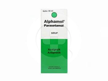 Alphamol sirup adalah obat untuk meringankan nyeri seperti sakit kepala, sakit gigi dan menurunkan demam.