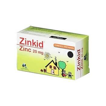 Zinkid tablet digunakan untuk Pelengkap pengobatan diare pada anak-anak usia < 5 tahun.