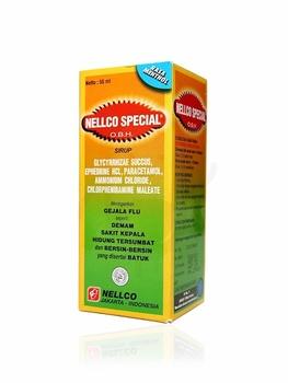 Nellco Special OBH Menthol Sirup 55 mL harga terbaik 21117