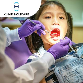 Cabut Gigi Anak di Klinik Holicare, BSD, Bintaro