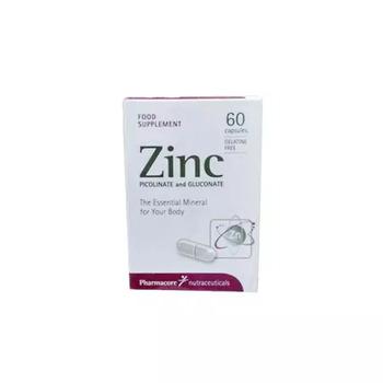 Pharmacore Nutraceuticals Zinc Picolinate and Gluconate kapsul digunakan untuk memelihara kesehatan