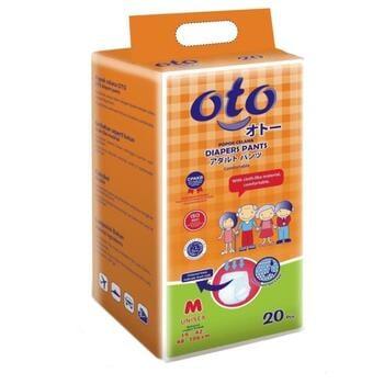 OTO Adult Diapers Pants / Popok Dewasa model Celana - M  harga terbaik 135000