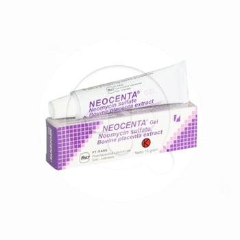 Neocenta gel 15 g untuk terapi pada luka bakar, impetigo dan eksim