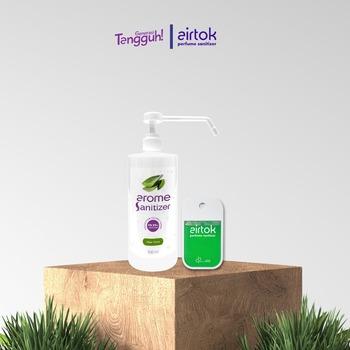 Airtok + Arome Sanitizer Bundling 2 Pack  harga terbaik 139000