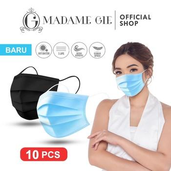 Madame Gie Safety You Face Mask Masker Kesehatan Hitam