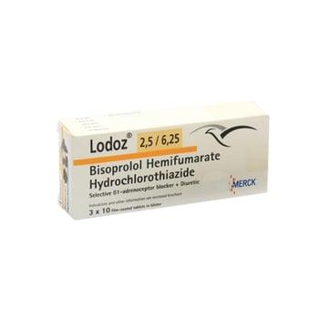 Lodoz Tablet adalah obat untuk membantu menurunkan tekanan darah tinggi.