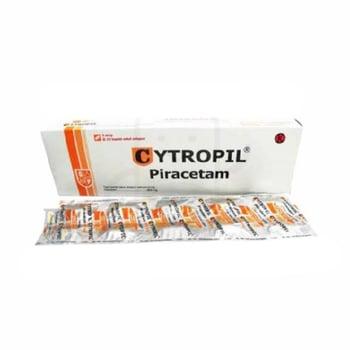 Cytropil kaplet digunakan untuk sindrom invulusional yang berhubungan dengan penuaan seperti penurunan daya ingat, ketagihan alkohol dan sindrom pasca trauma.
