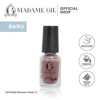Madame Gie Nail Matte 13 Bakery harga terbaik 7200