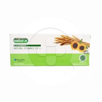 Natur-E Natural Vitamin E Kapsul 100 IU  harga terbaik 34628
