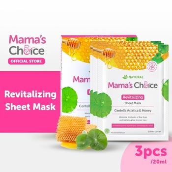 Mama's Choice Sheet Mask Revitalizing  harga terbaik 87000