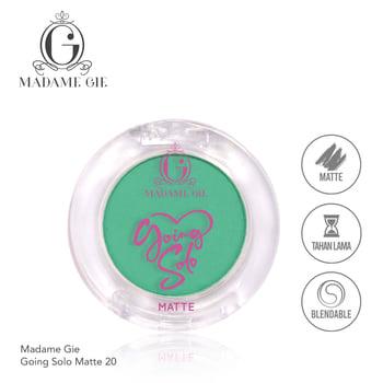 Madame Gie Going Solo Matte Pressed Eyeshadow 20 Martini harga terbaik 16000