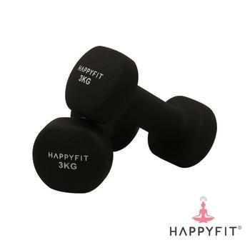 Happyfit Dumbbell Neoprene 3 Kg  harga terbaik 350000