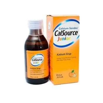 Calsource Junior Sirup 120 ml harga terbaik