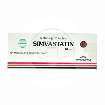 Simvastatin Kimia Farma Tablet 10 mg  harga terbaik 5504