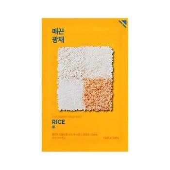 Holika Holika Pure Essence Mask Sheet - Rice harga terbaik 22000