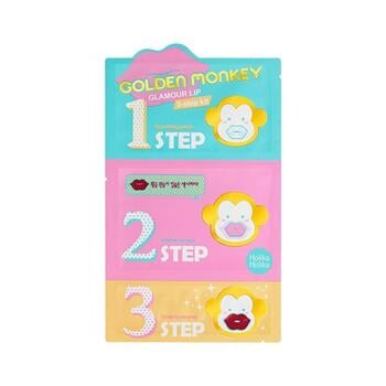 Holika Holika Golden Monkey Glamour Lip 3 Step Kit harga terbaik 78000