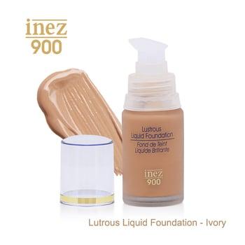 Inez 900 Lustrous Liquid Foundation - Ivory harga terbaik