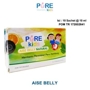 Pure Kids Aise Belly Natural Rasa Orange Mint 10 ml  harga terbaik 21384