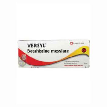 Versyl tablet adalah obat untuk meringankan vertigo dan mengobati penyakit Meniere
