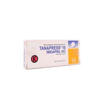 Tanapress Tablet 10 mg (1 strip @ 10 tablet) adalah obat untuk hipertensi.