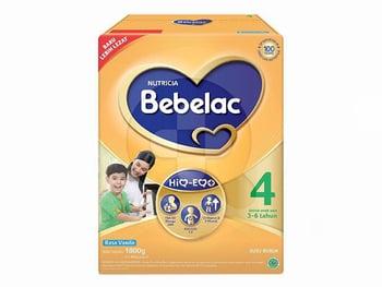 Nutricia Bebelac 4 HiQ-EQ Usia 3-6 Tahun Rasa Madu 800 g harga terbaik 136856
