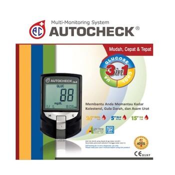 Autocheck Paket Hemat 3 in 1  harga terbaik 220000