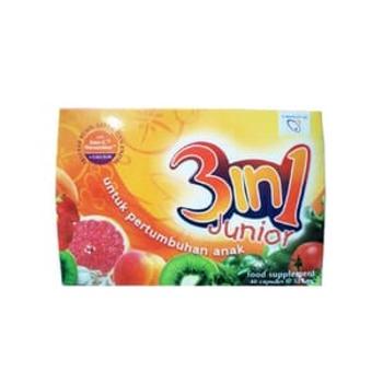 Junior 3 in 1 Kapsul 525 mg  harga terbaik