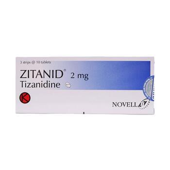 Zitanid Tablet adalah obat untuk membantu meringankan kejang otot, kram otot, dan kekakuan pada otot