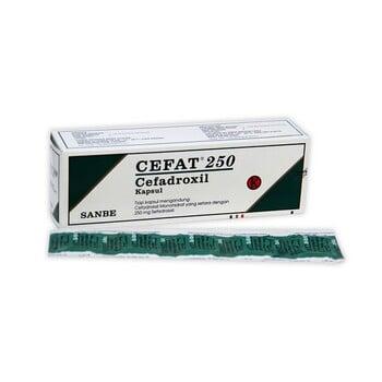 Cefat Tablet 250 mg  harga terbaik 682178