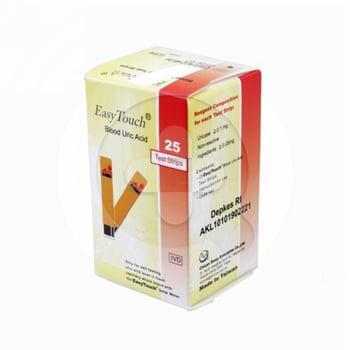 Easy Touch Uric Acid Test Strip  harga terbaik 95080
