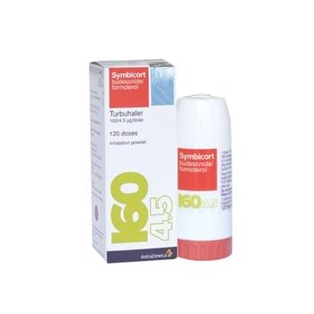 Symbicort 160/4,5 mcg  adalah obat untuk terapi asma