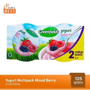 Greenfields Yogurt Mix Berry 125 g - 2 Pcs harga terbaik