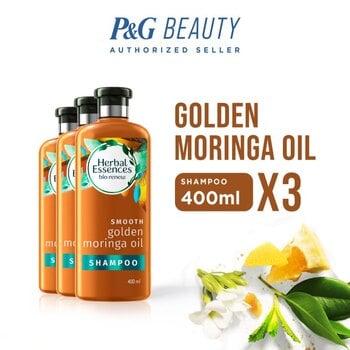 Herbal Essences Shampoo Bio Renew Golden Moringa 400 ml - Paket isi 3 harga terbaik 299700