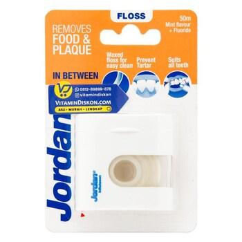 Jordan In Between Dental Floss 50 m  harga terbaik
