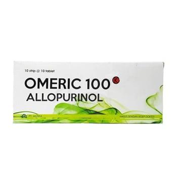 Omeric tablet adalah obat untuk membantu menurunkan kadar asam urat dalam darah