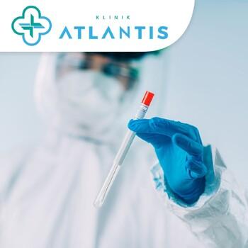 Rapid Swab Test Antigen Covid 19 di  Klinik Atlantis, Medan