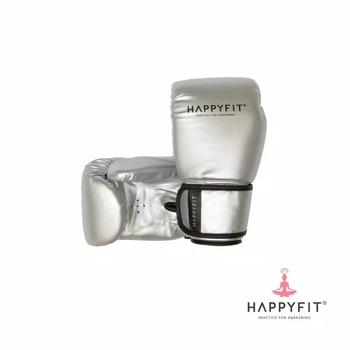 Happyfit Boxing Gloves 12Oz - Grey harga terbaik 350000