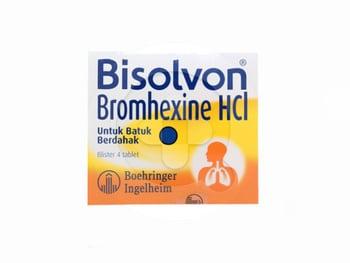 Bisolvon tablet adalah obat yang digunakan untuk meredakan batuk berdahak